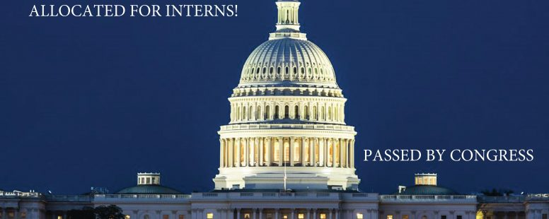 VICTORY! House and Senate Approve $14 Million in Funding to Pay Interns