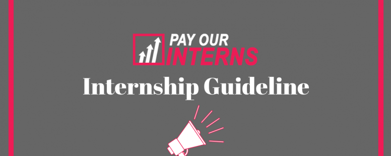 Pay Our Interns House Internship Guide