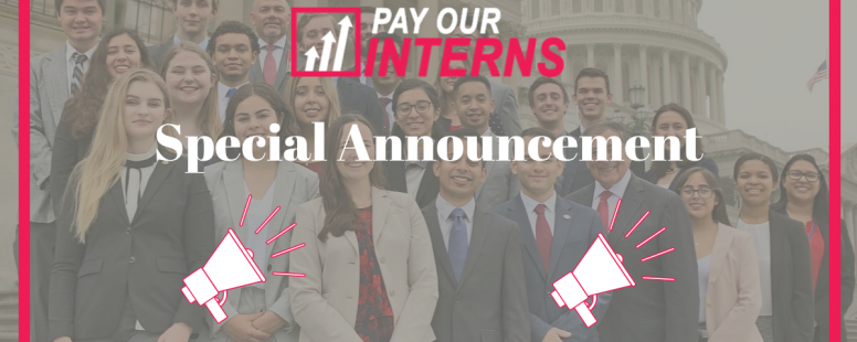 Pay Our Interns Presents: Trailblazer Intern Award