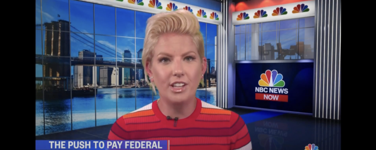NBC News Now: Inside the push for federal government interns to get a paycheck